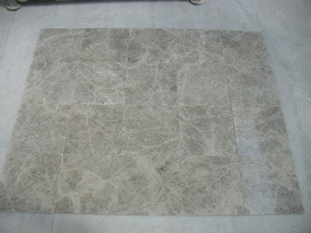 18x18 Silver Polished Marble Premium
