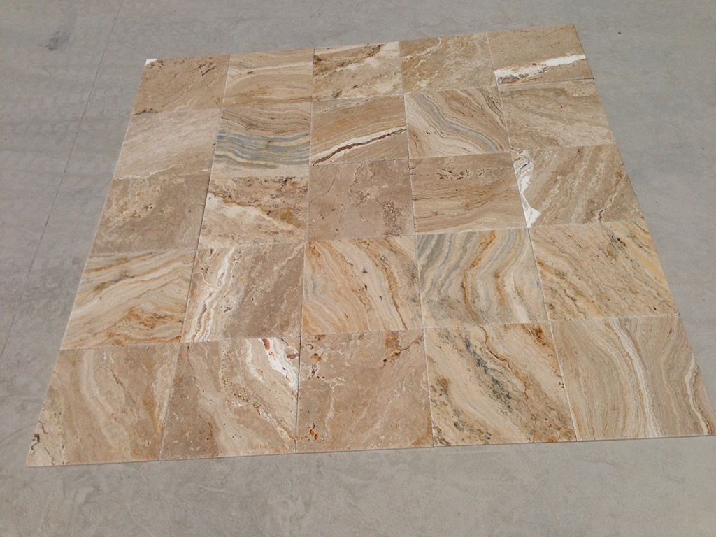 Venetian Blend Br&Ch Travertine