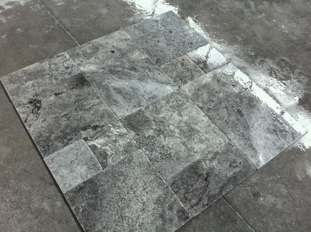 Silver Br&Ch Travertine
