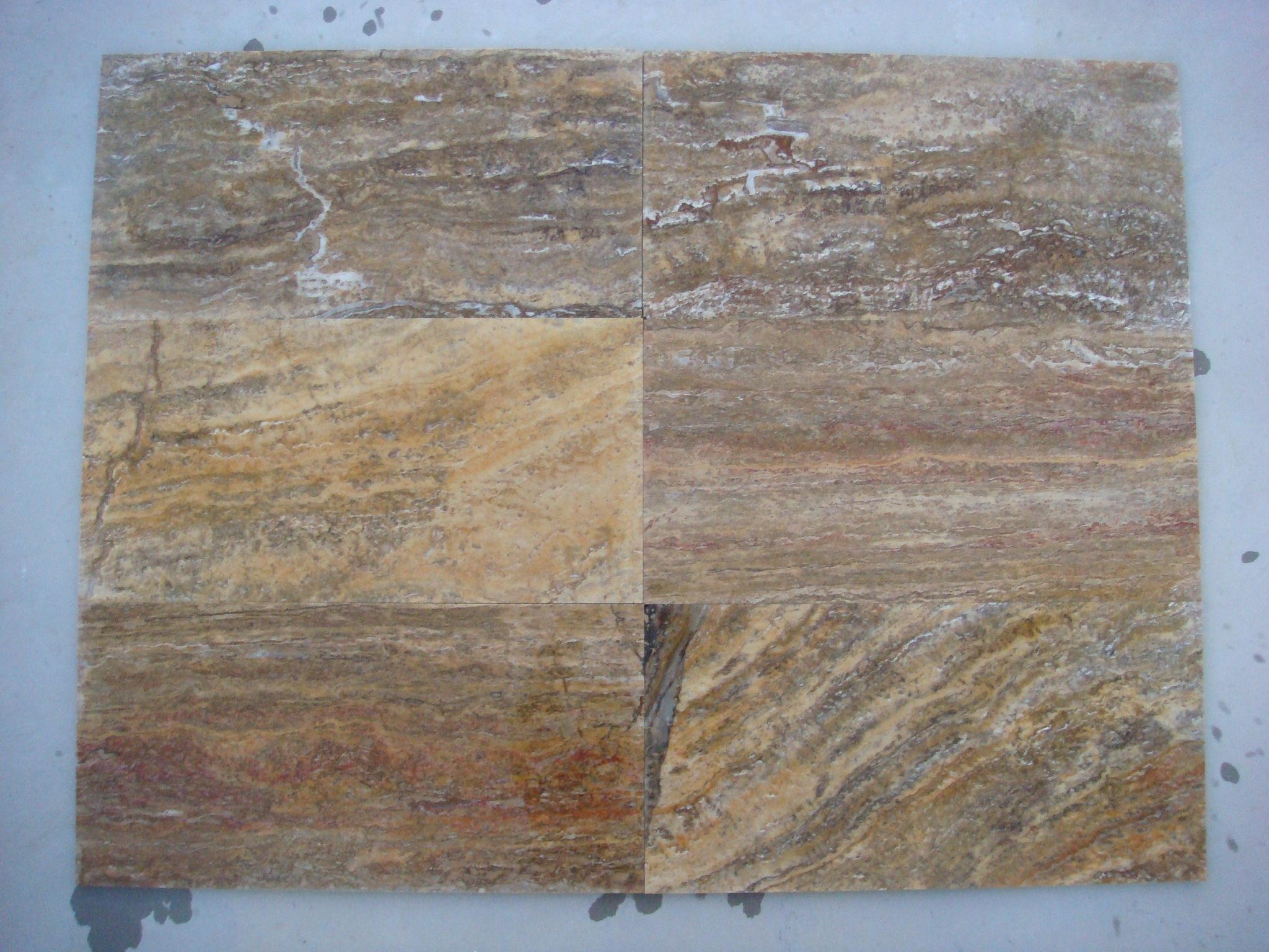 10x305x610 Scabos VeinCut Filled&Honed Travertine