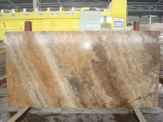 Scabos Travertine Slab