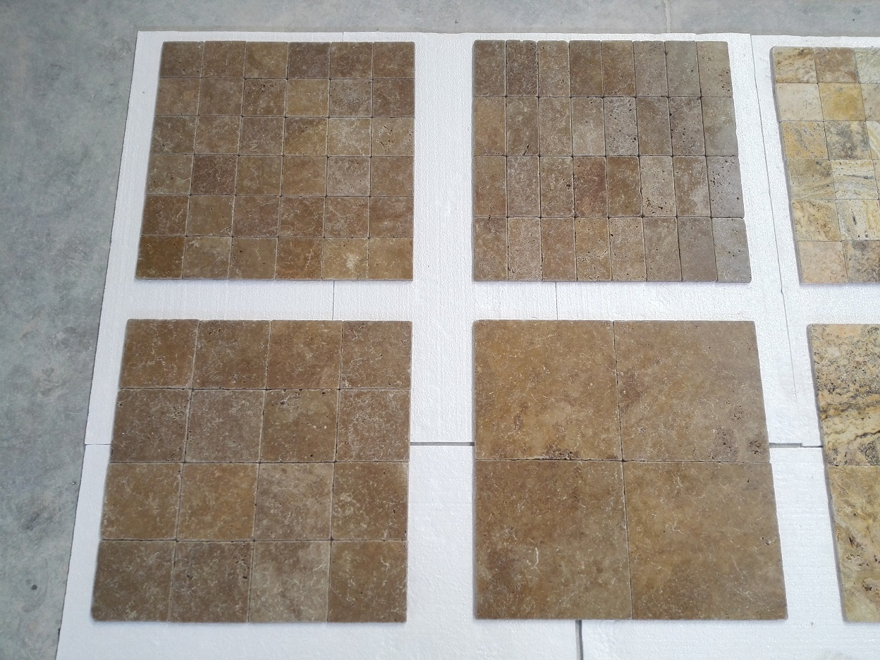 Noce Tumbled Travertine Premium 1