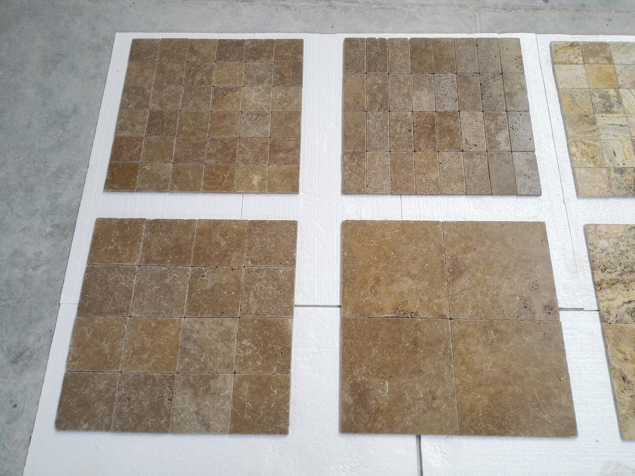 Noce Tumbled Travertine Premium 2