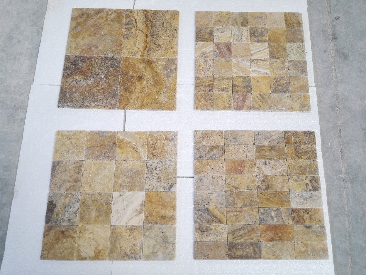 Scabos Travertine Tumbled Premium 2